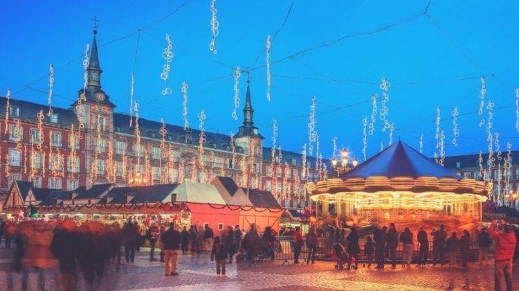 mercado de navidad de madrid