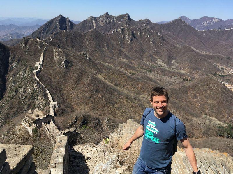 Vistas desde torreon de la muralla china