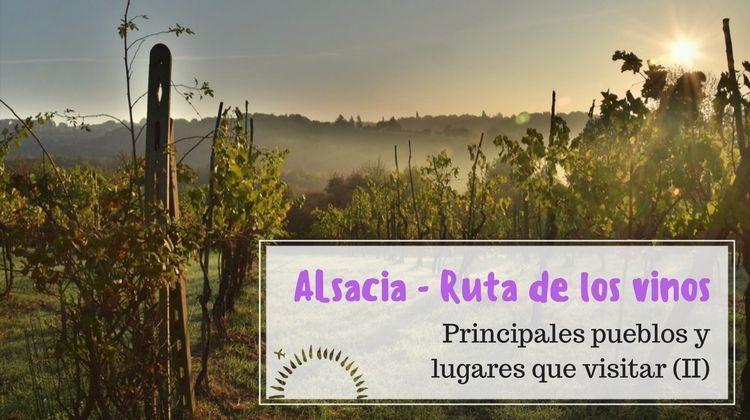 ruta del vino Alsacia