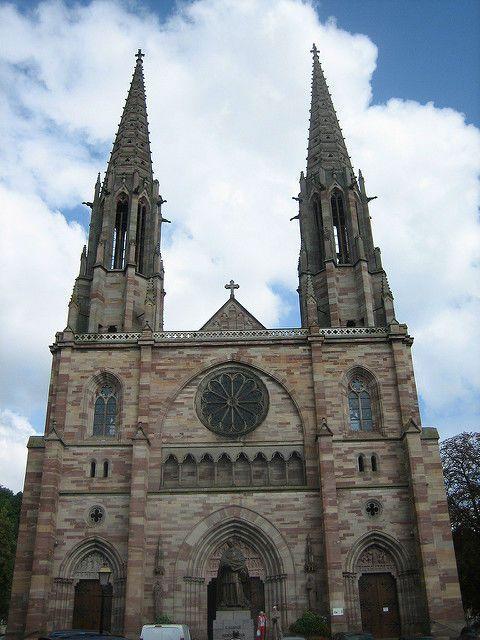 Obernai iglesia San Pedro San Pablo
