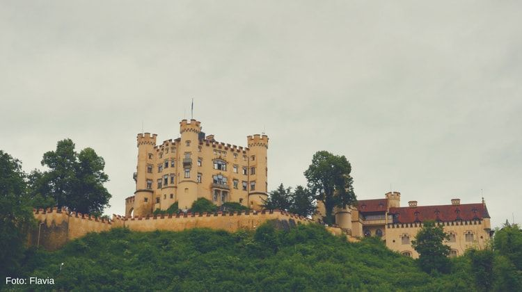 alrededores castillo hohenschwangau