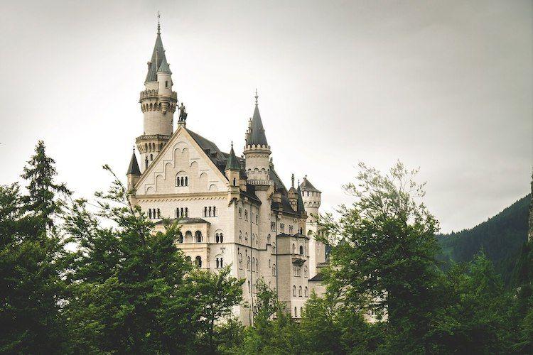 castillo de neuschwanstein interior