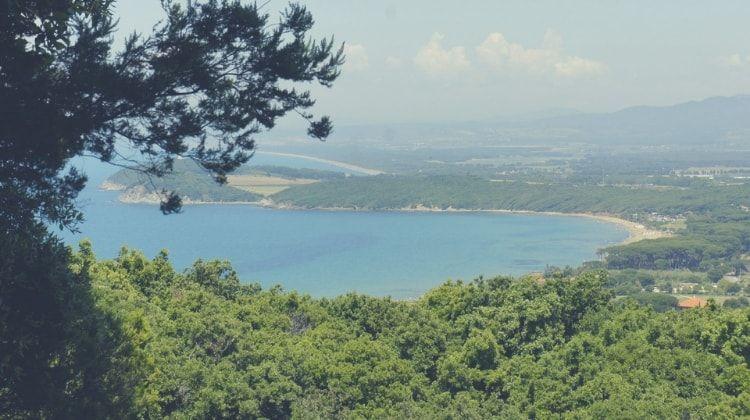 panoramica costa de la toscana
