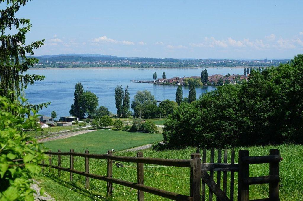 Reichenau en el Lago Constanza