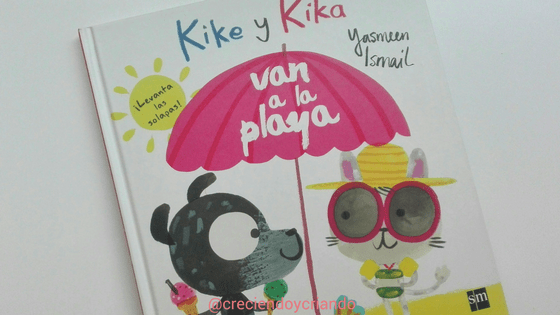 Libro Juego Kike y Kika van a la playa