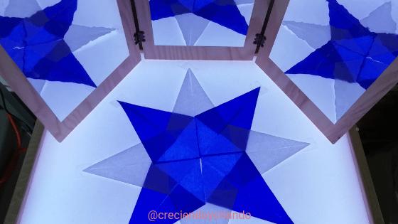 Estrella waldorf mesa de luz