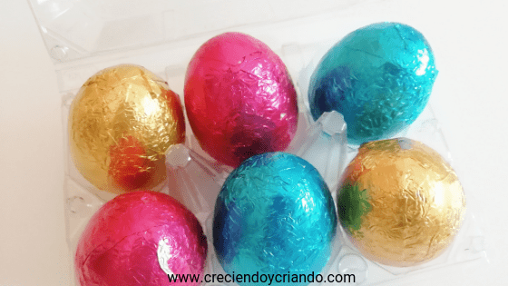 Huevos pascua chocolate