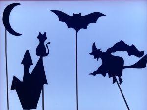 teatro sombras Halloween