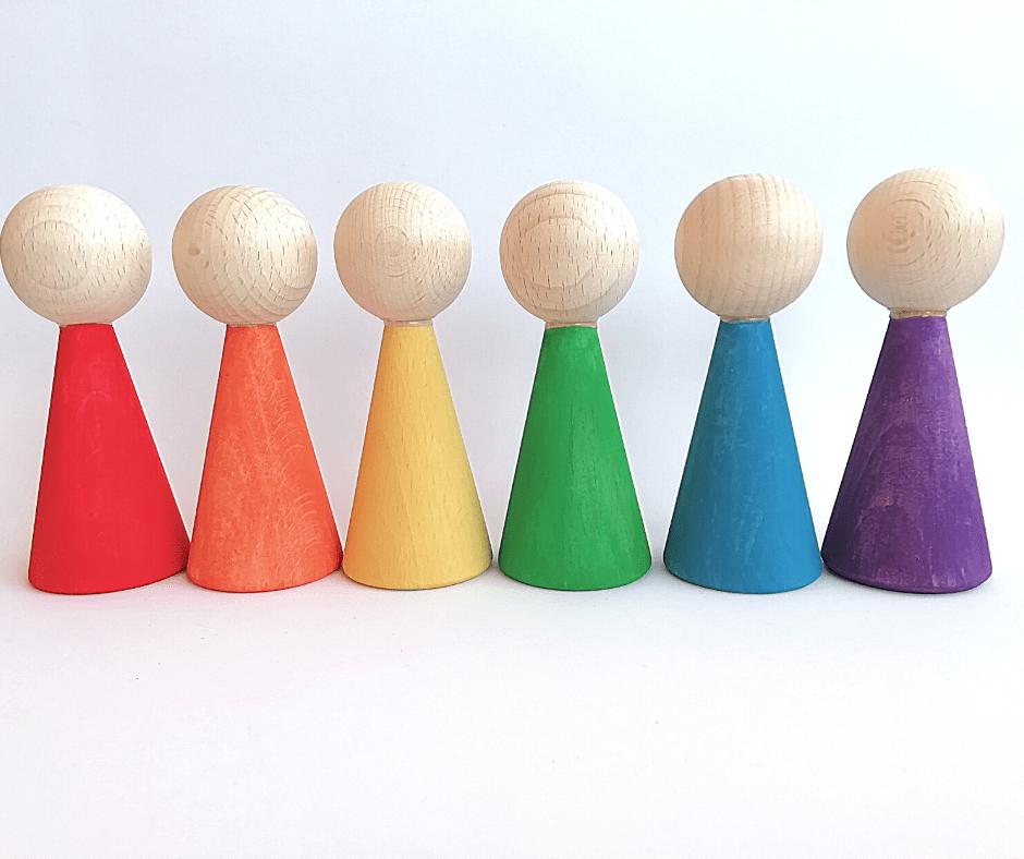 Rainbow Dolls Creciendo y Criando