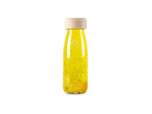 Botella sensorial FLOAT YELLOW Petit Boum