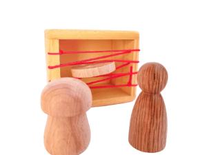 caja de gomas motricidad fina creciendo y criando