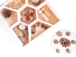 Tinker tray elementos naturales