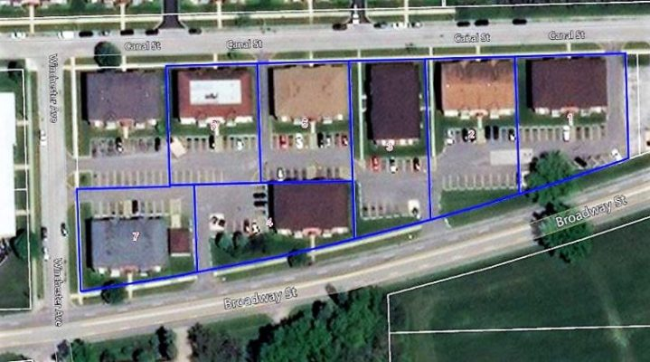 Parcel-Map 84 Unit Multifamily Property For Sale 1900 Broadway St Blue Island IL