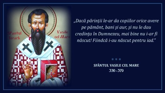 Sfantul Vasile Cel Mare * www.credinta-ortodoxa.com