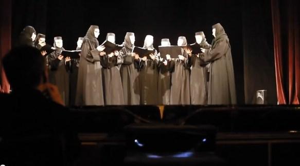 """Poezia """"Daniil Sihastrul"""" - de Andrei Ciurunga in interpretarea corului maicutelor de la Manastirea Diaconesti  * www.credinta-ortodoxa.com"""