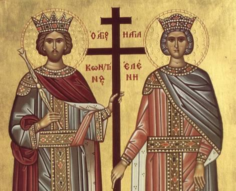 Sfintilor Imparati Constantin si Elena, rugati-va lui Dumnezeu pentru noi