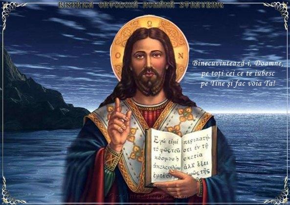 Binecuvintează-i, Doamne, pe toţi cei ce te iubesc pe Tine şi fac voia Ta cea sfântă. Amin!