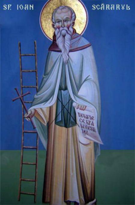 Sfântul Cuvios Ioan Scărarul