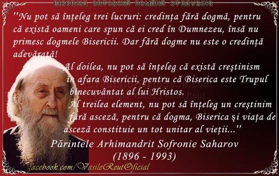 Părintele Arhimandrit Sofronie Saharov