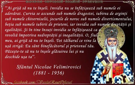 Sfântul Nicolae Velimirovici - Îndrumar pentru a treia săptămână din Postul Mare