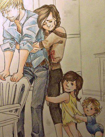 Familie...