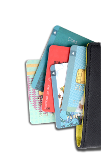 Instant decision credit cards