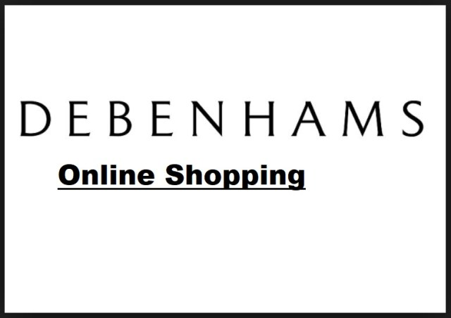 Debenhams Online Shopping