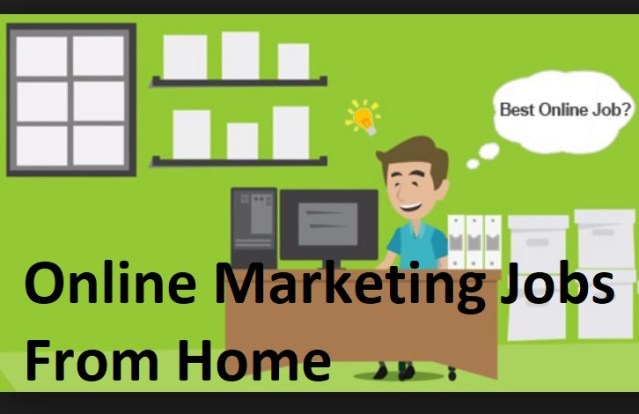 Online Marketing Jobs From Home