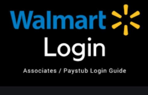 Walmart Sign In