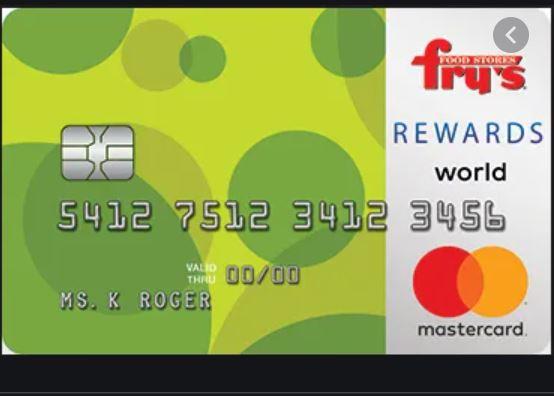 Fry's Rewards World Mastercard