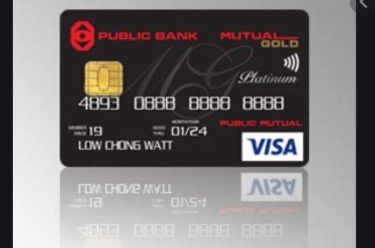 Mutual Gold-PB Visa Platinum Credit Card