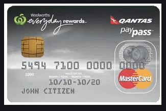 Woolworths Qantas Platinum Credit Card