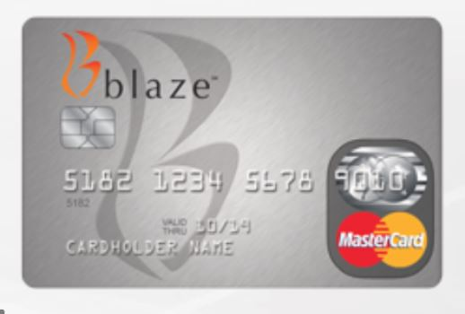 Blaze Credit Card Application