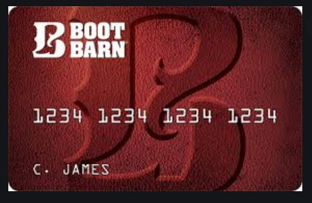 Boot Barn Credit Card