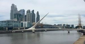 Puente de La Mujer Buenos Aires
