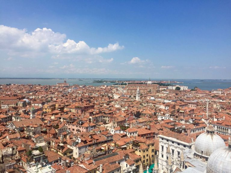 View from St. Mark's Campanile