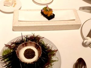 Dinner at Odette, a Three Michelin Star Restaurant in Singapore