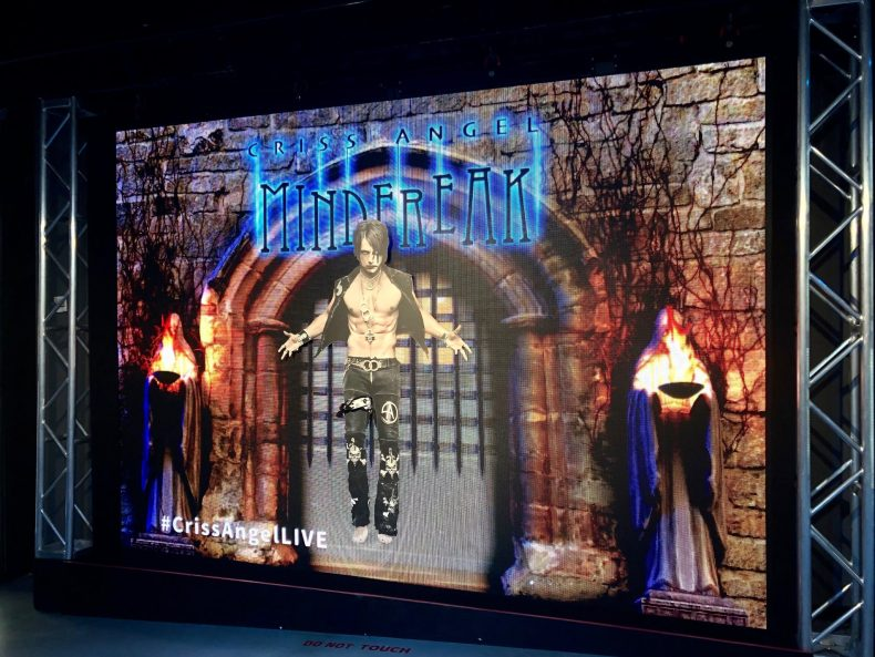 Criss Angel Mindfreak at Planet Hollywood