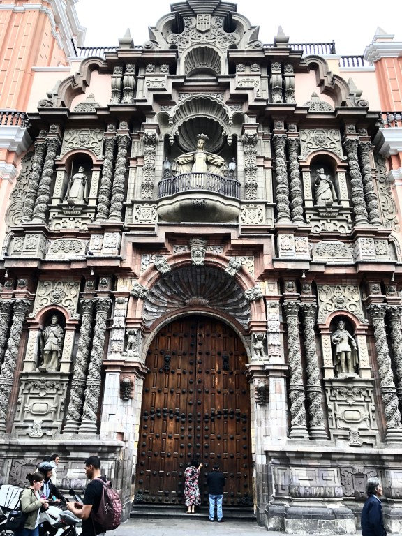 La Merced Church in Lima