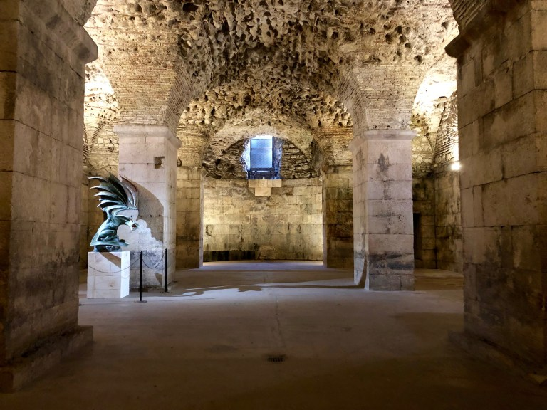 Diocletian's Palace Basements