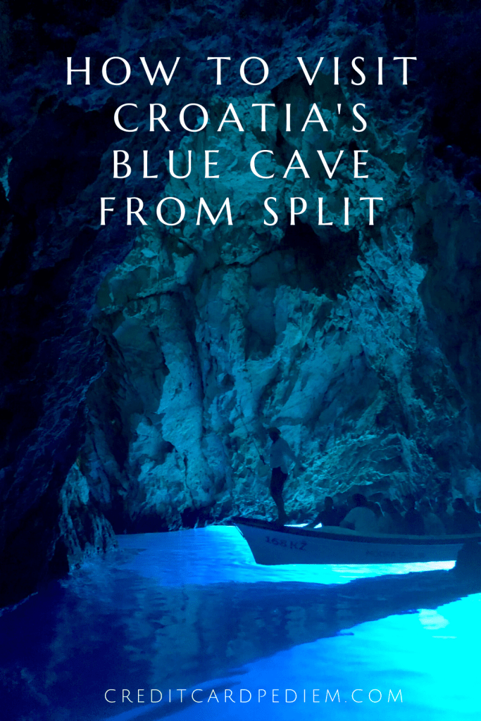 Pinterest image for the Blue Cave