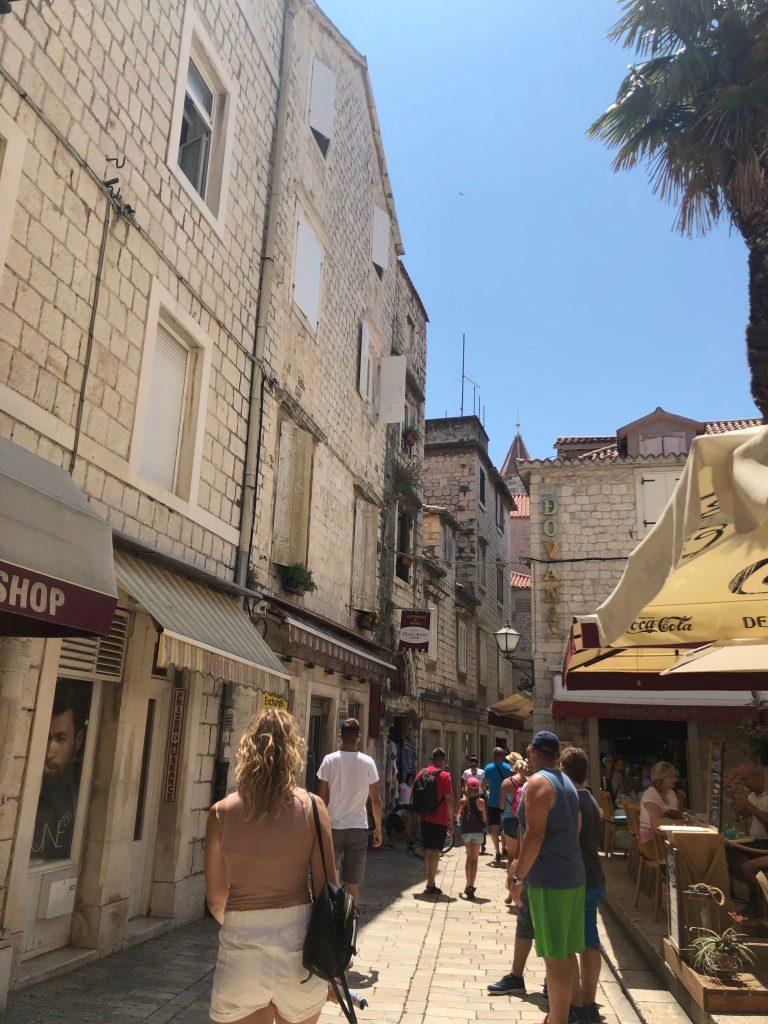 A street in Trogir