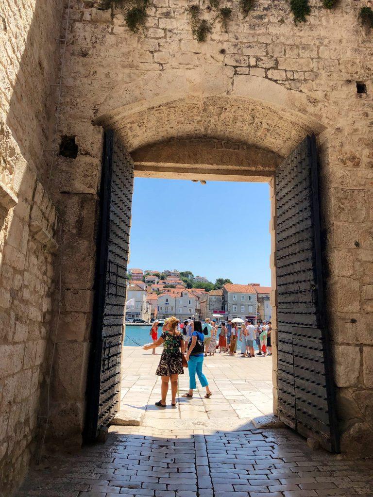 Main Gate in Trogir