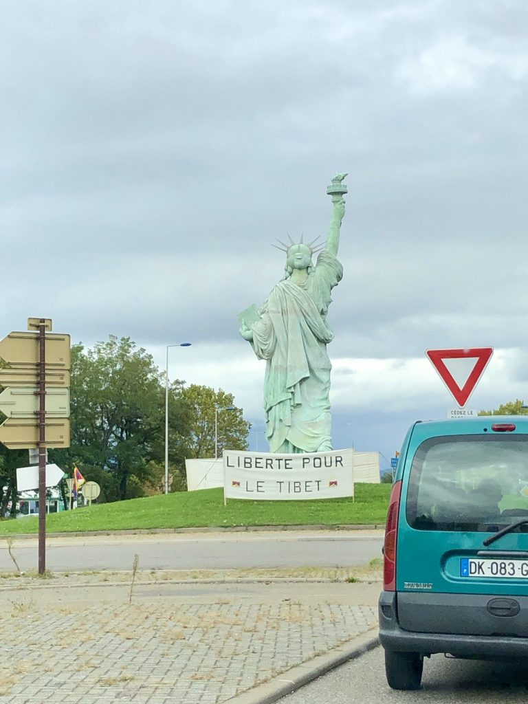 Statue of Liberty in Colmar