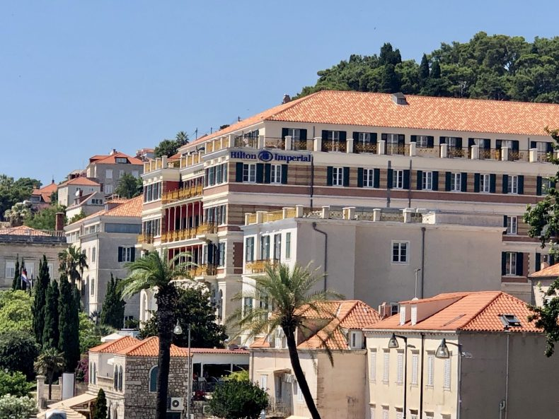 Hilton Imperial Dubrovnik View from Old Town