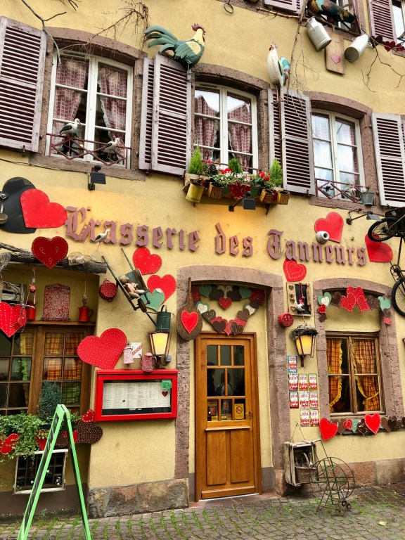 A restaurant in Colmar