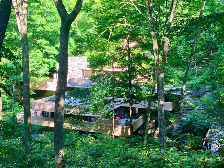 Fallingwater Birds Eye View
