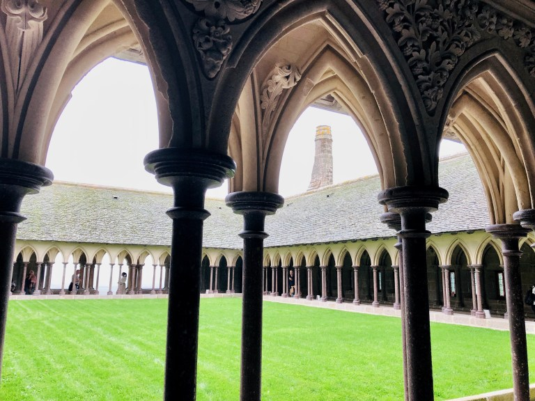 Mont Saint-Michel Cloisters