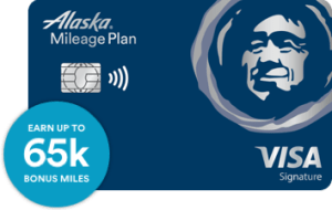 Alaska Airlines card from Bank of America