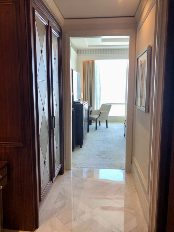 St. Regis Abu Dhabi Room Entrance